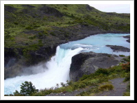 Salto Grande Waterfall (Torre del Paine National Park)